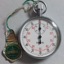 Loridal stopwatch Mechanical movement swiss made newoldstock