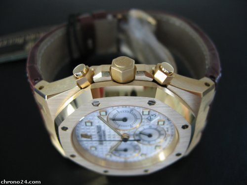 Audemars Piguet ROYAL OAK CHRONOGRAPH GELBGOLD