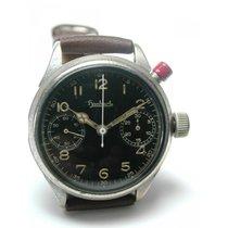 Hanhart , Ein-Drücker Flieger-Chronograph, Cal.40/50, Dezember...