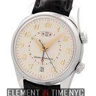 Girard Perregaux Traveller II Alarm GMT Steel 40mm Ivory Dial...