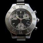 Cartier Chronoscaph 21 Steel Men's New
