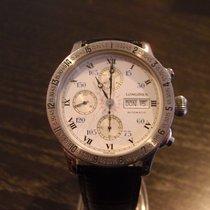 Longines Lindbergh Hour Angle chronograph 42 mm