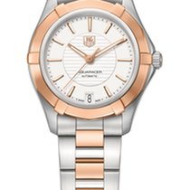 TAG Heuer Aquaracer Automatic Ladies Calibre 5 34mm Silver Dial