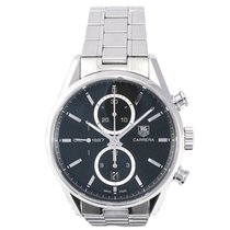 TAG Heuer Carrera Cal 1887 Stainless Steel Glass Back CAR...
