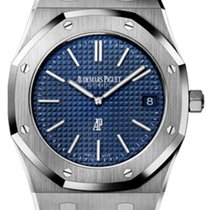Audemars Piguet Royal Oak Extra-thin Blue