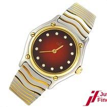"Ebel ""Classic Lady"" Stahl/750 Gelbgold - Diamantindize..."