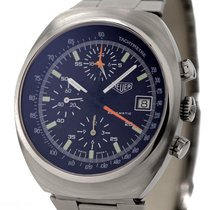 Heuer Vintage Chronograph Ref-510500 Stainless Steel Lemania...