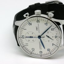 IWC Portugieser Chronograph Stahl Automatik
