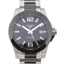 Longines Conquest 41 Automatic Steel