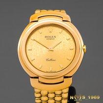 Rolex Cellini Cellissima 18K Gold 6622 Midsize 33MM Box