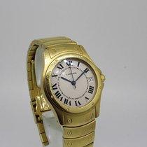 Cartier Santos Ronde 18 K Gold Box Papiere