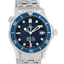 Omega Seamaster James Bond Blue Wave Dial Midsize Watch...