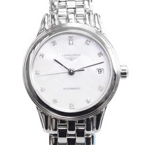 Longines Flagship Stainless Steel White Automatic L4.274.4.87.6