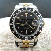 Rolex Oyster Perpetual Gmt Master 2-tone 1675 18k Gold/stainle...