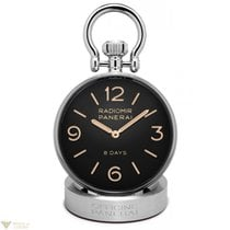 Panerai 8 Day Power Reserve Stainless Steel Table Clock