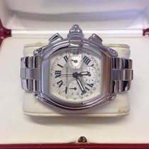 Cartier Roadster XL Chronograph W62006X6 - Serviced By Cartier
