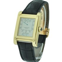Cartier W1534451 Tank Louis Cartier - Yellow Gold on Strap...