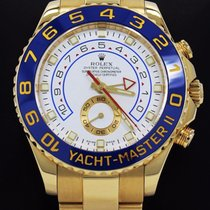 Rolex Yacht Master II 116688 18k Yellow Gold Oyster 44mm Watch...