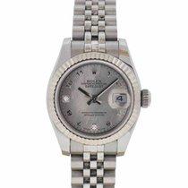 Rolex Ladies Datejust 179174 Mother of Pearl Diamond Watch