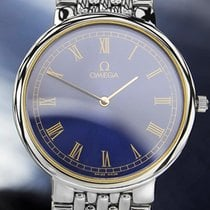 Omega Deville Beautiful Swiss Made Mens Quartz Luxury Dress...