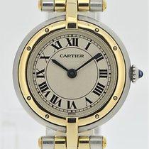 Cartier Panthére Rondé Stahl/Gold