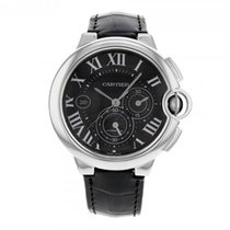 Cartier Ballon Bleu Chronograph 44mm XL Stainless Steel on...