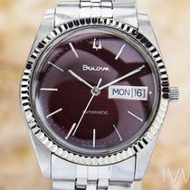 Bulova Mens Vintage Swiss Automatic Watch With Beautiful...