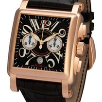 Franck Muller Conquistador Cortez 18K Rose Gold Men's Watch