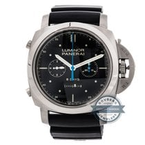 Panerai Luminor 1950 Rattrapante 8 Days Titanio Transat...