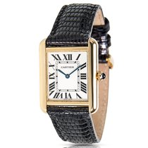 Cartier Tank Solo W5200024 Ladies Watch in 18KT Yellow Gold...