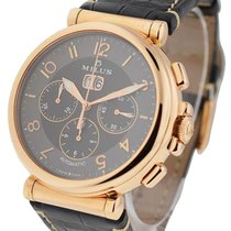 Milus ZETC400 Zetios Chronograph Big Date in Rose Gold - On...