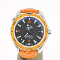 Omega Seamaster Planet Ocean 42mm Steel(B&P2009) OrangeBez...