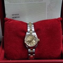 Rolex Ladies Datejust 79163 18K Yellow Gold & Stainless