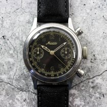 Minerva Vintage Gilt Military 13-20 Chronograph