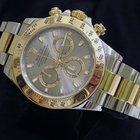 Rolex Cosmograph Daytona 2tone 18k Gold/ss Sel Slate Dial 116523