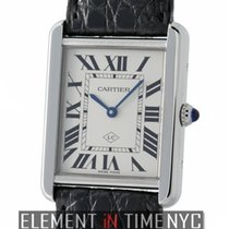 Cartier Tank Collection Tank Solo LC Edition Stainless Steel...