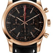 Breitling Transocean 18K Solid Rose Gold Automatic