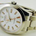 Rolex Milgauss with White Dial