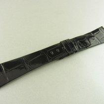 Rolex Krokoleder Armband Schwarz 21/16 Mm Alligator Leather...
