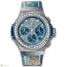 Hublot Big Bang 41 MM Jeans Automatic Chronograph Stainless...