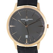 Vacheron Constantin Patrimony Traditionelle 18k Pink Gold Dark...