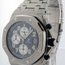 Audemars Piguet Royal Oak Offshore Steel Chronograph Watch...