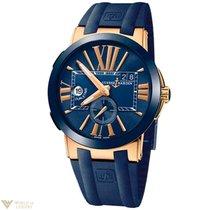 Ulysse Nardin Executive Dual Time Rose Gold Men's Watch