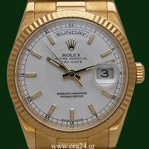 Ρολεξ (Rolex) DayDate 18038 Chronometer 36mm 18k Yellow Gold...