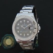 Rolex Yachtmaster 37MM Rhodium Newest Model