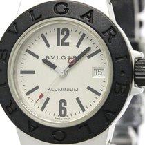 Bulgari Aluminum Rubber Quartz Ladies Watch Al29ta (bf097651)