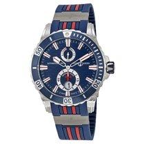 Ulysse Nardin Maxi Marine Diver Blue Dial Mens Watch 263-10-3R-93