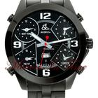 Jacob & Co. The Five Time Zone Watch Black PVD Stee...