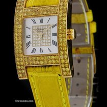 Chopard Yellow Gold H-Watch Your Hour Yellow Diamonds 12/6818-45