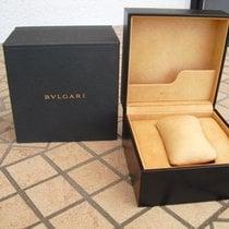 Bulgari Große Leder-Uhrenbox